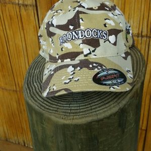 Boondock flex fit khaki camo hat