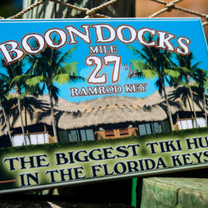 Boondocks Small Sign