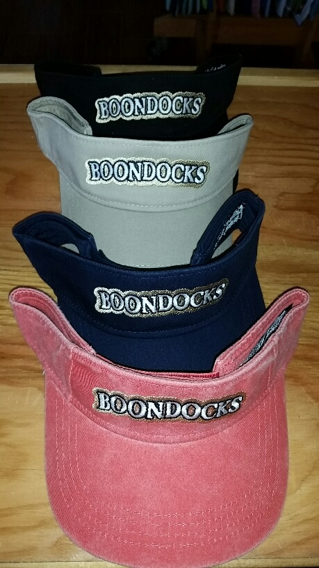 Boondocks Visor color options