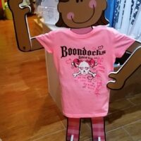 Boondocks pink youth tee