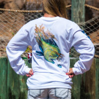 UPF Dolphin Long Sleeve Shirt