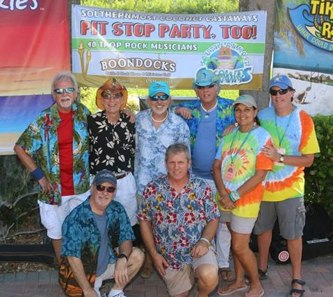 Pit Stop Party, Too! -Howard and Trop Rock Junkies at Boondocks