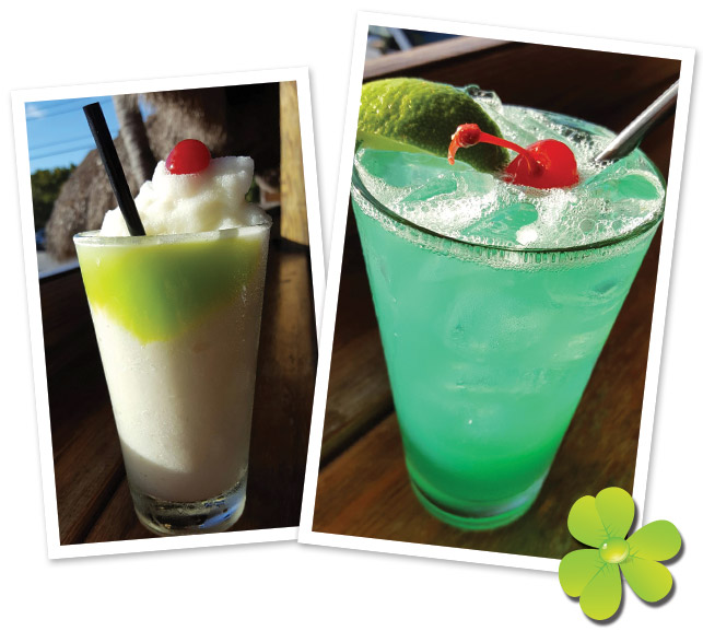 Boondocks St. Patty's Day Drinks