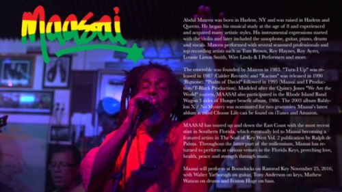 Maasai And The Reggae Connection At Boondocks