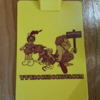 Boondocks Clip Board