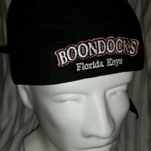 Boondocks black skull cap