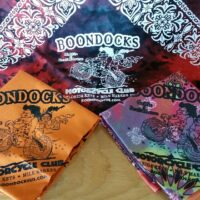 Boondocks bandana with logo