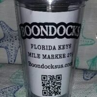 Boondocks Thermal Tumbler with straw and screw off lid