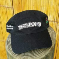 Boondocks baseball cap front view