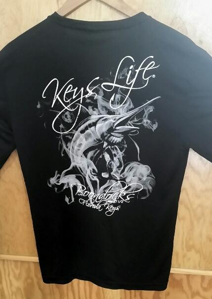 Long sleeve sport tek Keys Life Shirt