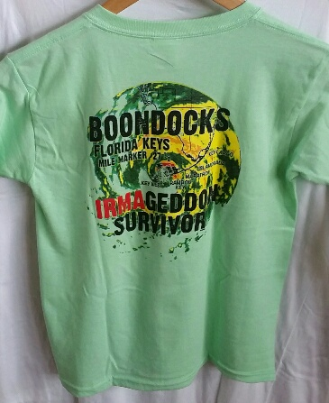 Boondocks youth Irmageddon tee shirt