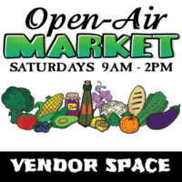 Open Air Market 10' x 10' Vendor Space