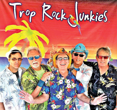 Picture of America's premier Trop Rock Band - The Trop Rock Junkies