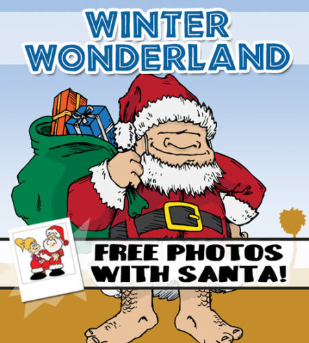 Winter Wonderland At Boondocks - Free Photos with Santa