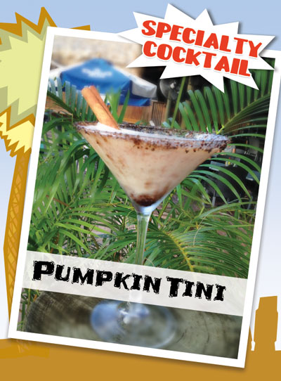 Boondocks Specialty Cocktail PumkinTini